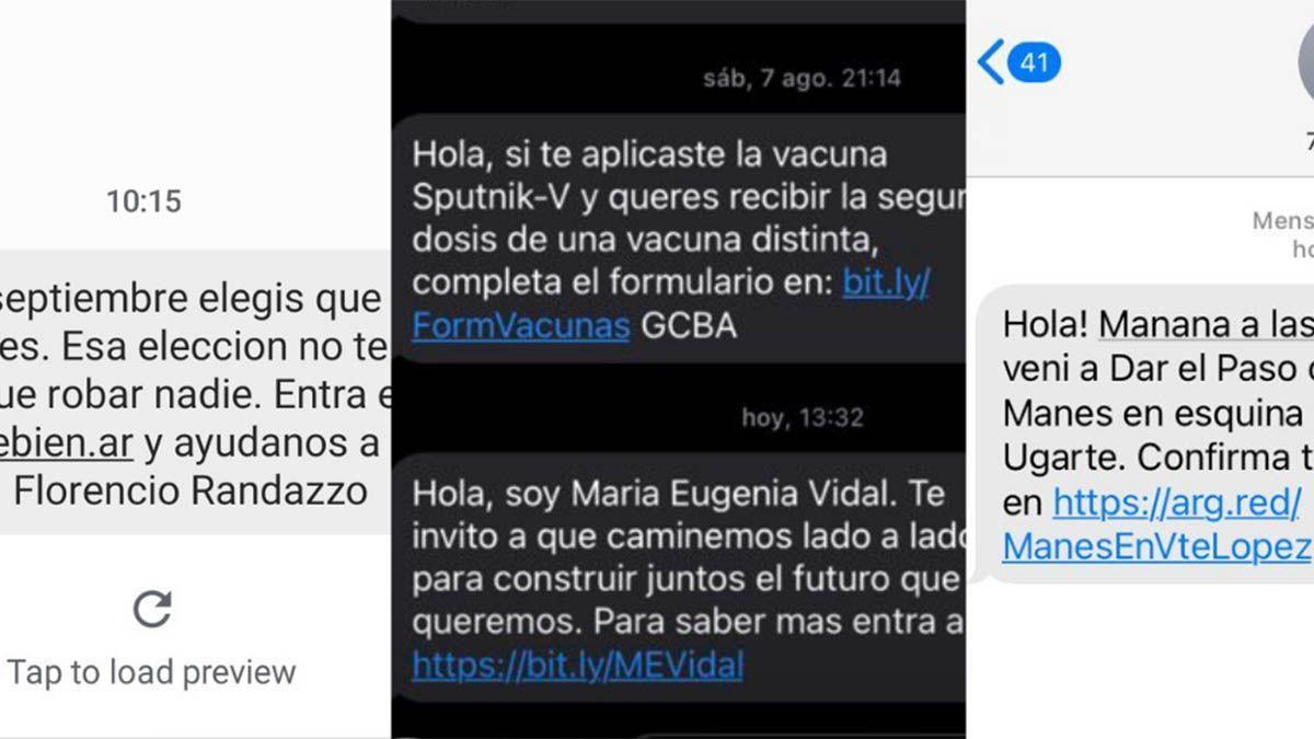 Publicidad electoral por SMS: por qué nos llegan mensajes de candidatos y por qué está mal