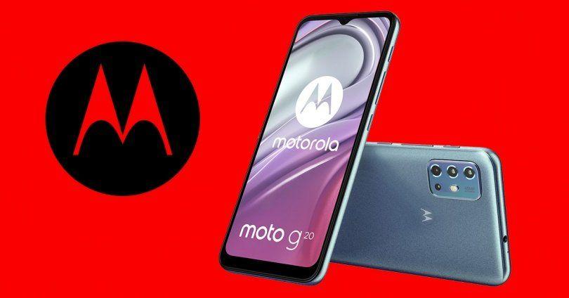 El Moto G20 llega más económico y con batería inagotable