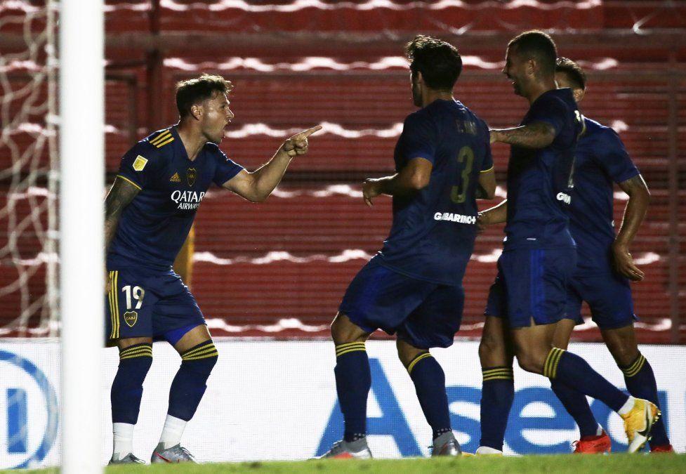 Boca igualó 2 a 2 con Argentinos y jugará la final de la Copa Maradona.