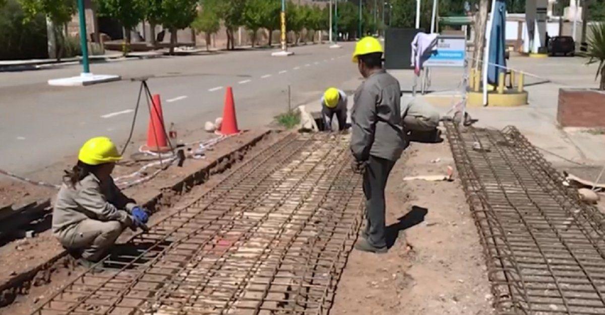 San Juan suspende las obras públicas y privadas