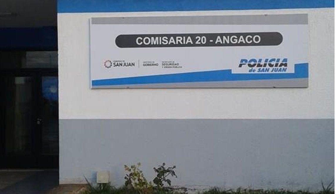 Comisaría 20 de Angaco.