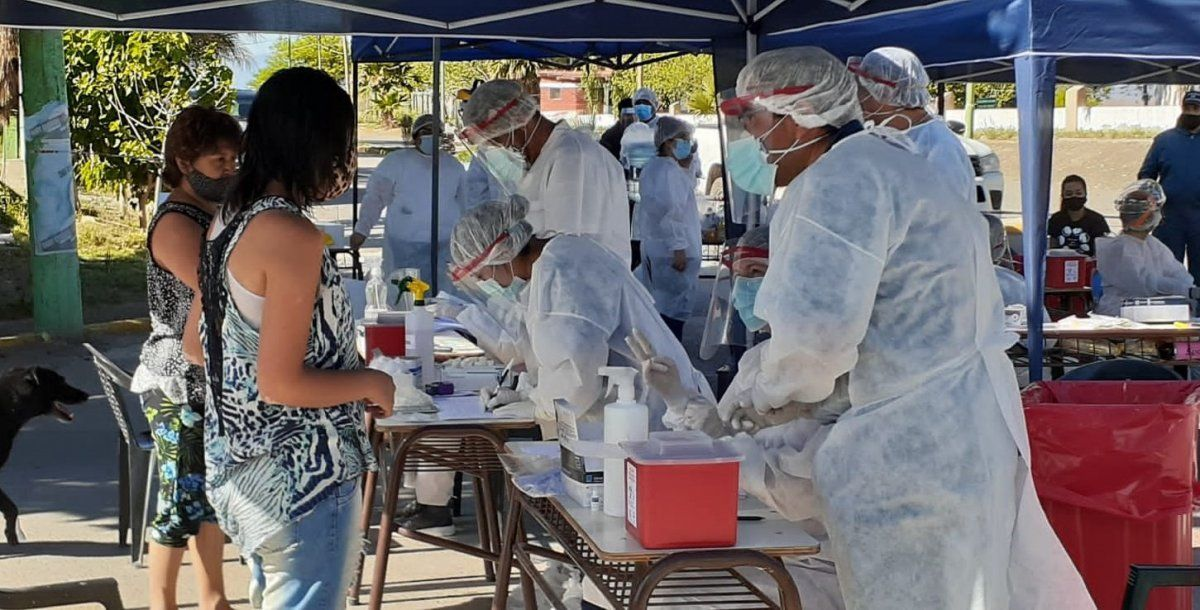 Coronavirus: comenzó el primer rastrillaje y bloqueo en Jáchal