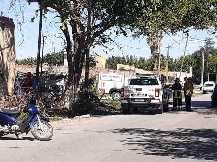 Accidente laboral en Pocito.
