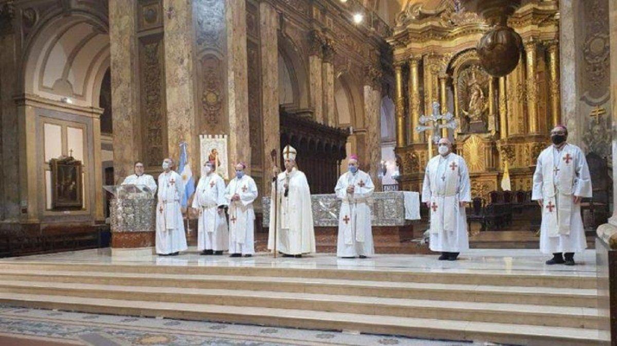 En el Tedeum por el 25 de mayo, la Iglesia dijo que la pandemia acentuó la pobreza