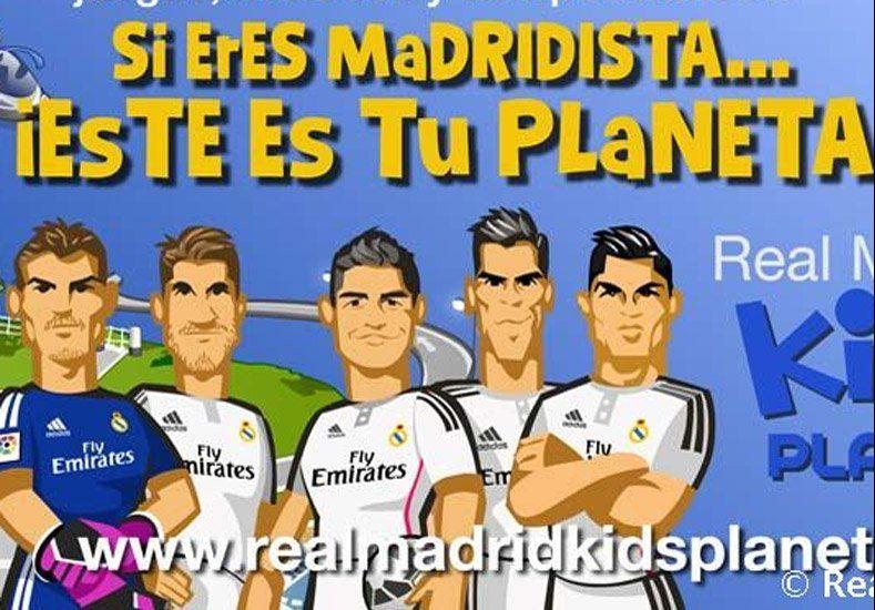 Mini hinchas: Real Madrid creó un juego virtual seguro para los niños