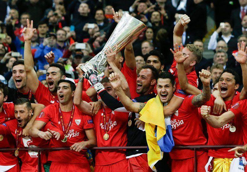Bicampeón: Sevilla ganó la Europa League y Banega fue el jugador del partido
