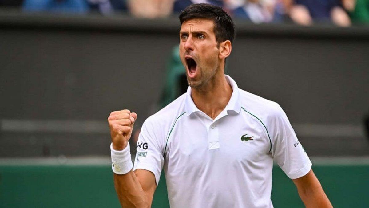 Djokovic es finalista en Wimbledon y busca su 20° Grand Slam