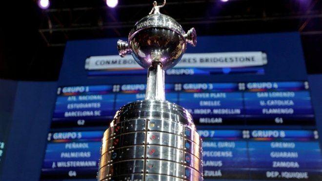 Así quedaron los 8 grupos de la Copa Libertadores 2021