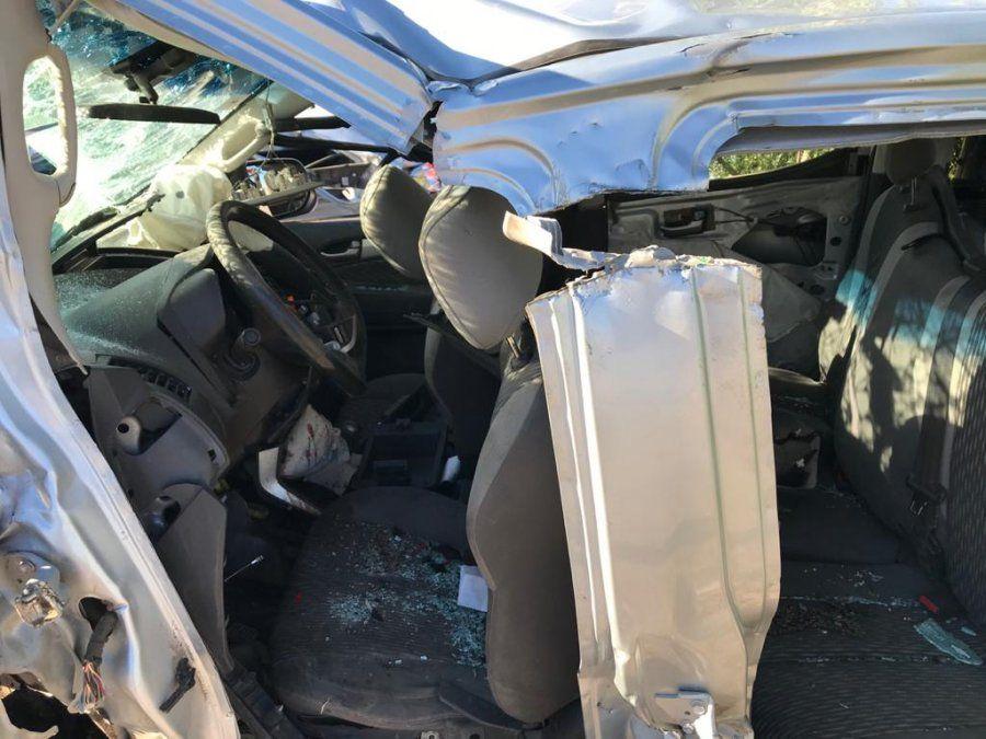 Impactantes imágenes de un choque fatal que pudo haberse evitado
