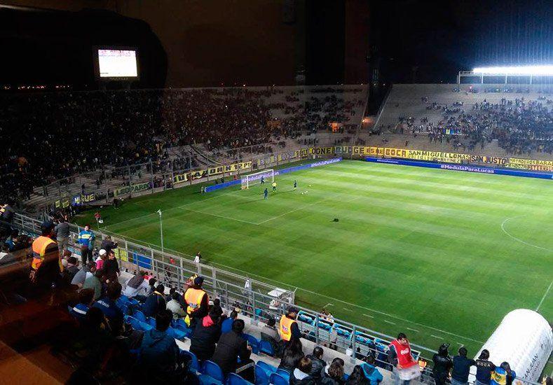 El Bicentenario ya palpita la previa del partido entre Boca y Huracán Las Heras