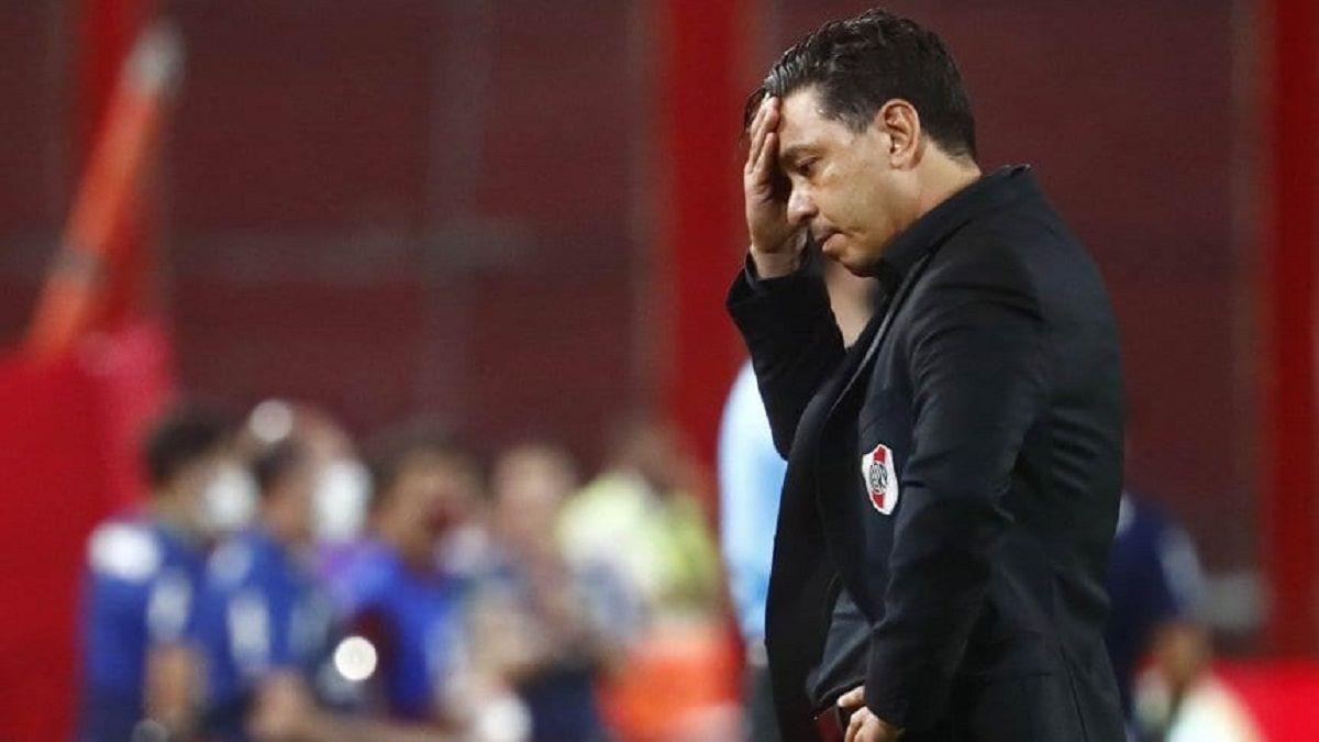 Sorpresiva decisión de Gallardo tras la derrota ante San Lorenzo