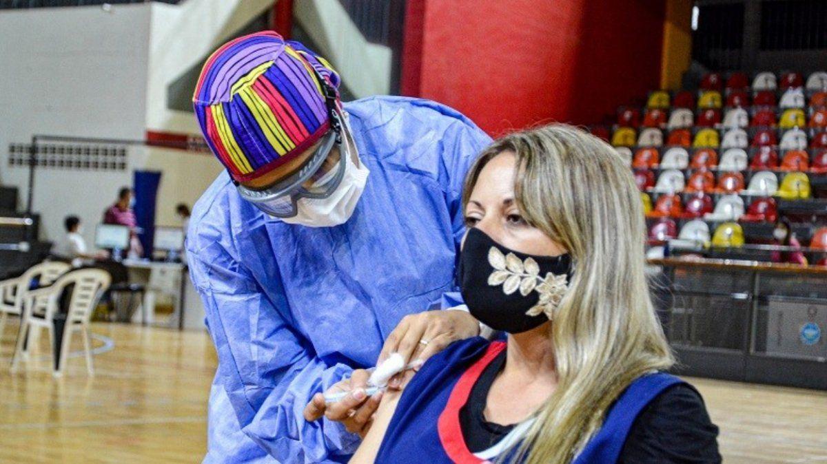 Más de 14 mil docentes de nivel inicial y primario fueron vacunados