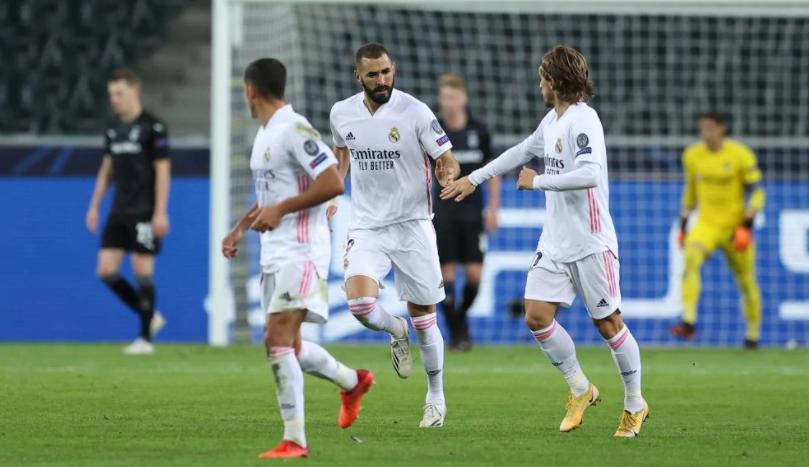 Real Madrid goleó Huesca por 4-1 y trepó a la punta de la Liga española