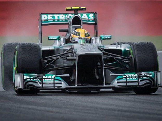 En el GP de Bélgica, Hamilton alcanzó su cuarta pole consecutiva