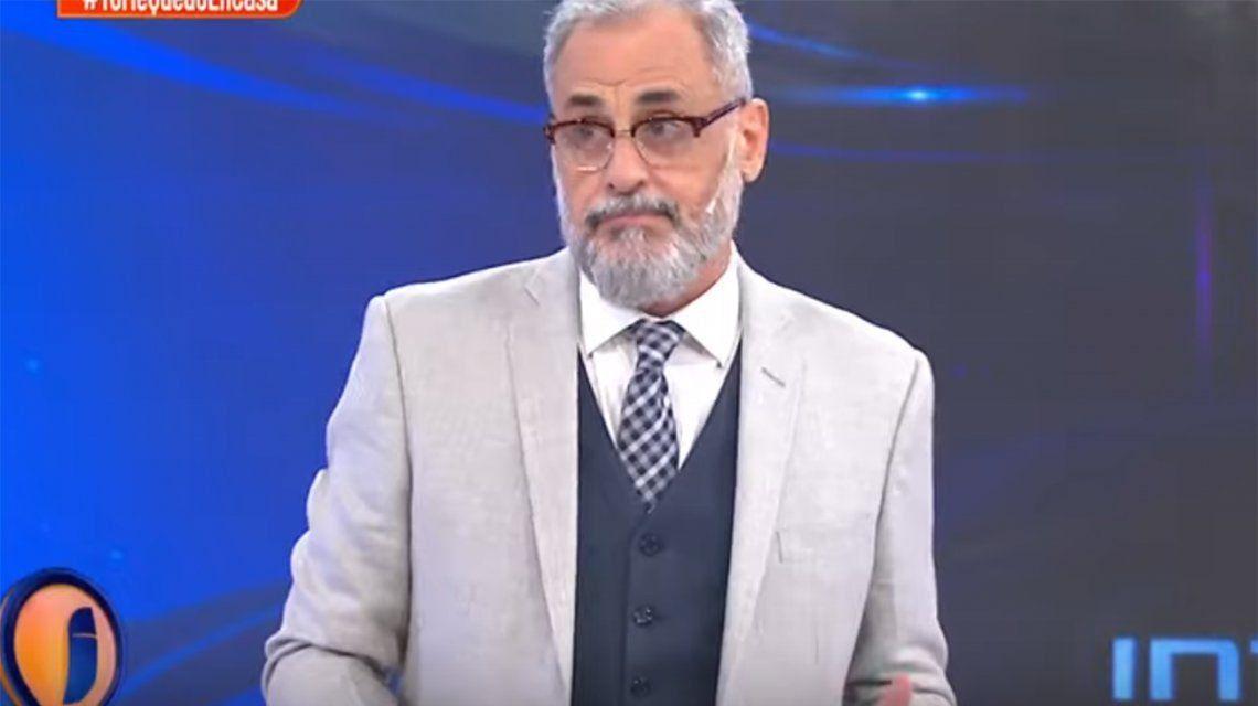 Jorge Rial, enojado por la fiesta con mujeres de Fede Bal