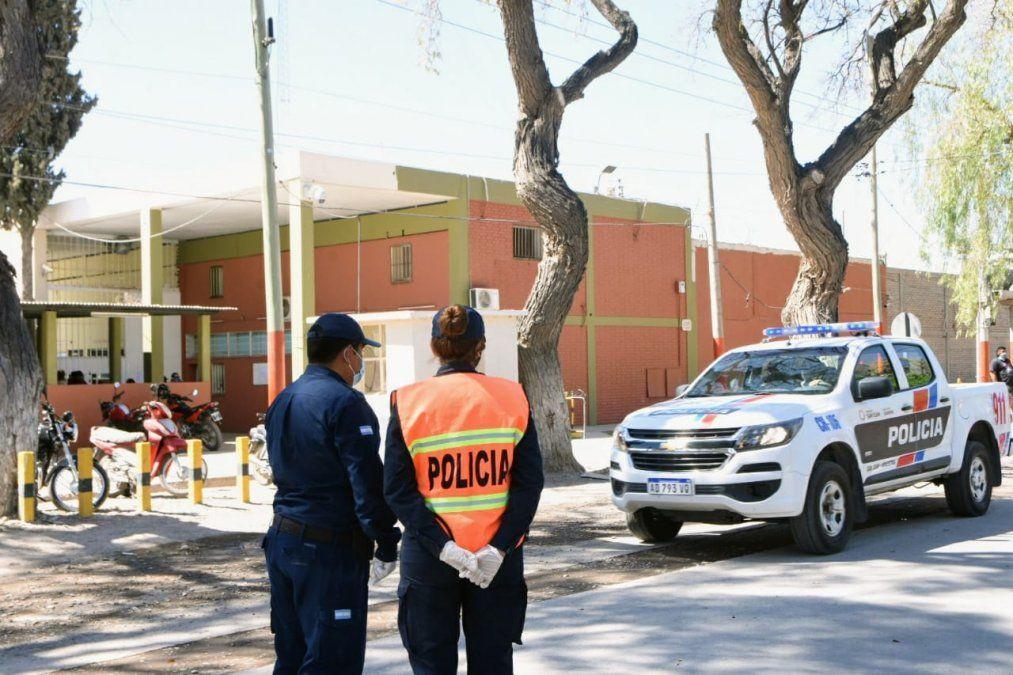 Alteración del orden controlada por personal del Penal de Chimbas