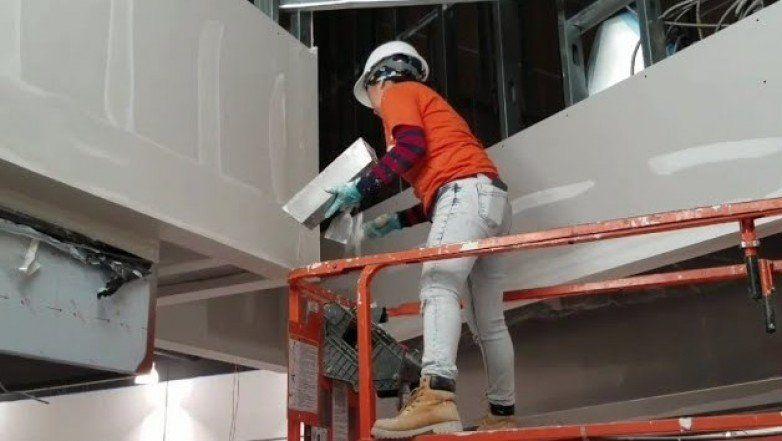 Más de 100 mujeres participaron de la primera capacitación de construcción no convencional