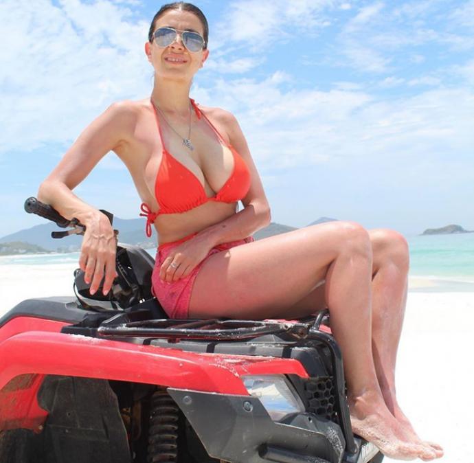 Andrea Rincón reveló por qué entró en Gran Hermano y tuvo un perfil sexy