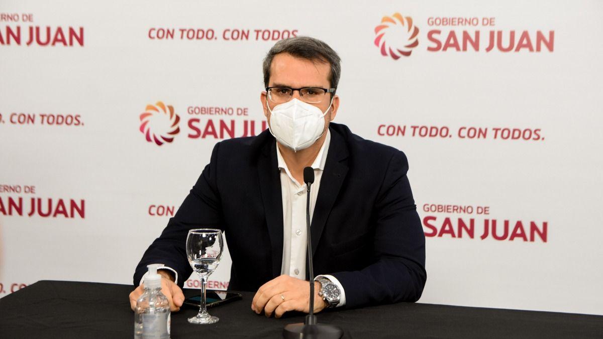 Carlos Munisaga dio positivo de COVID-19. (Foto: Adrián Carrizo).