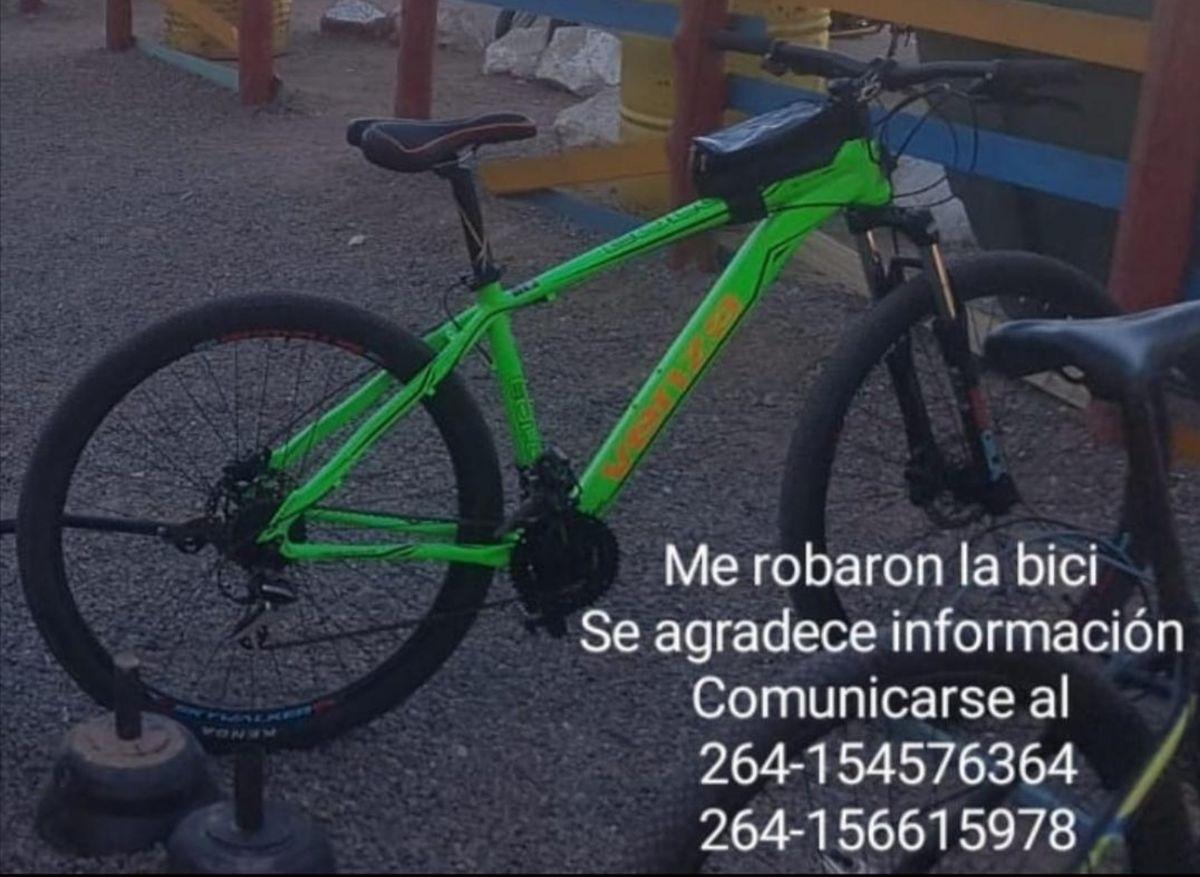 En un año le robaron tres bicicletas y pide ayuda por las redes