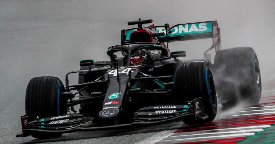 Hamilton largará adelante en el Gran Premio de Gran Bretaña