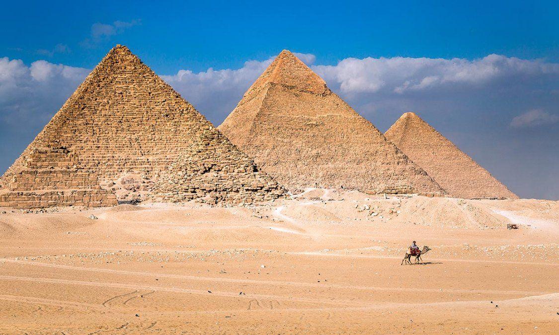 Se descubrió quiénes construyeron las pirámides egipcias