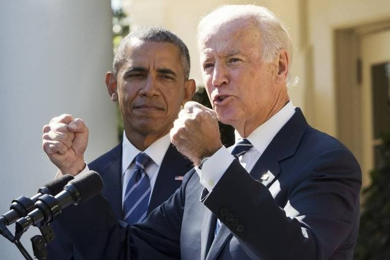 Barack Obama saludó a Joe Biden y Kamala Harris por el triunfo