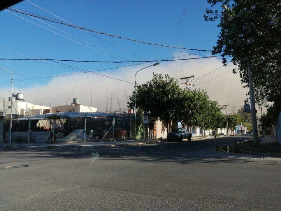 Parte de la provincia, en alerta por posible viento Zonda para este jueves