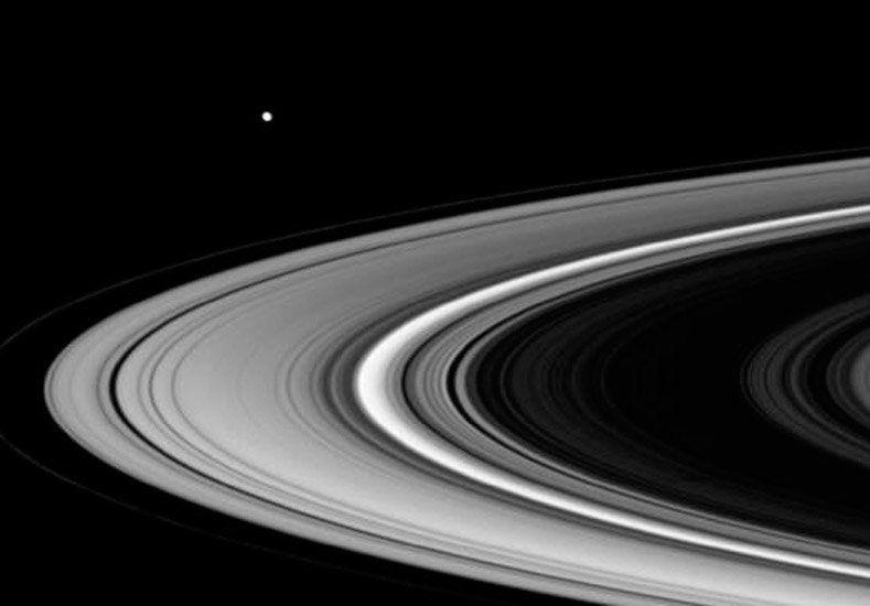 El lunes la Luna se juntará con Saturno y se podrá ver en todo el país