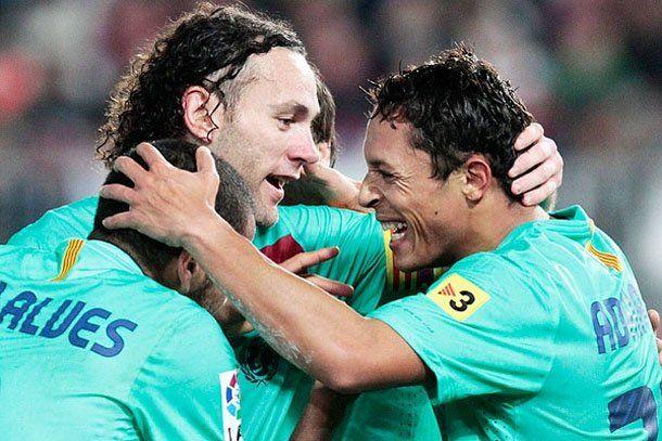 El Barcelona derrotó al Almería y llegó a la final de la Copa del Rey