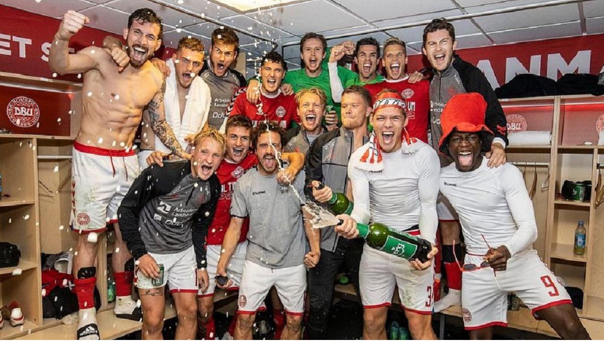 Dinamarca es el tercer clasificado al Mundial de Qatar 2022