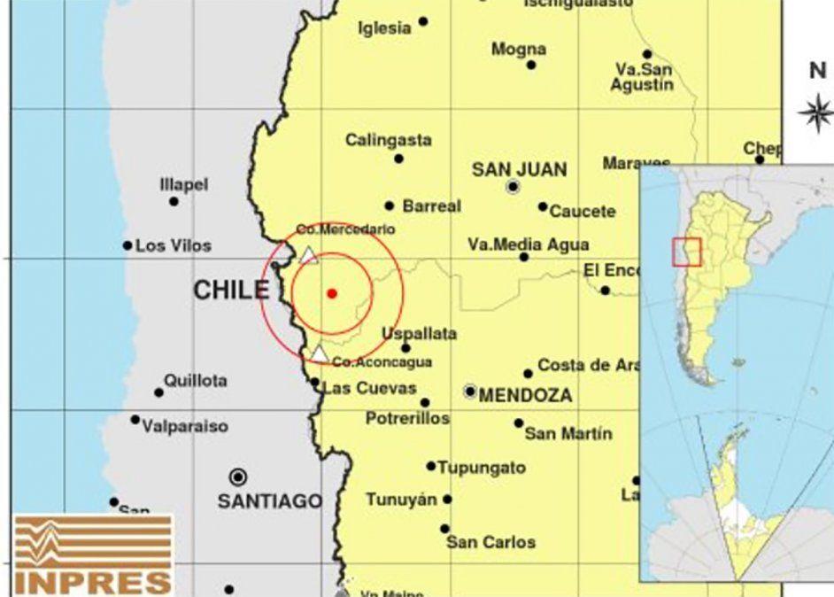Un fuerte temblor se sintió en San Juan con una magnitud de 5.2