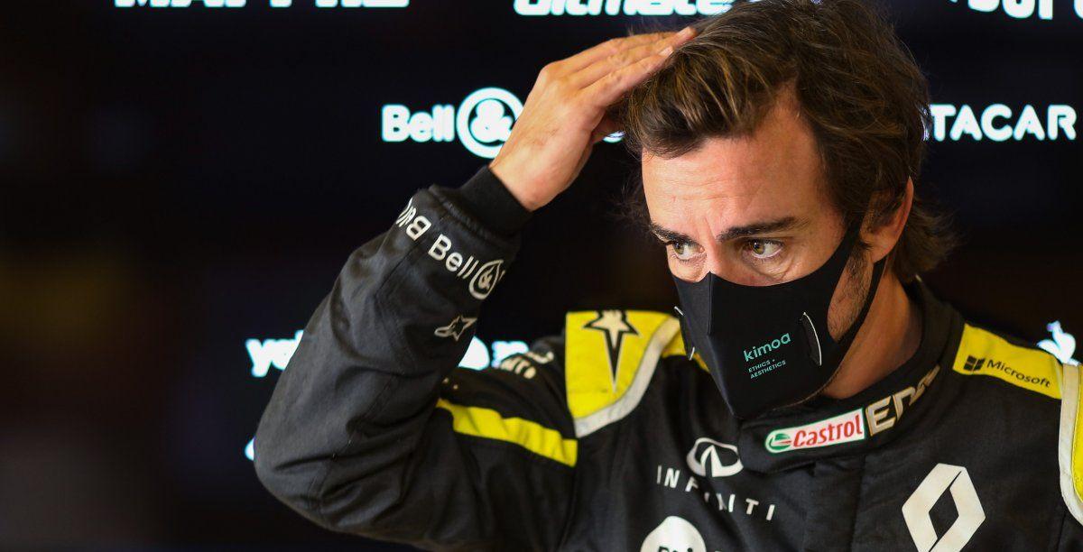 Fernando Alonso fue dado de alta tras su accidente y posterior operación