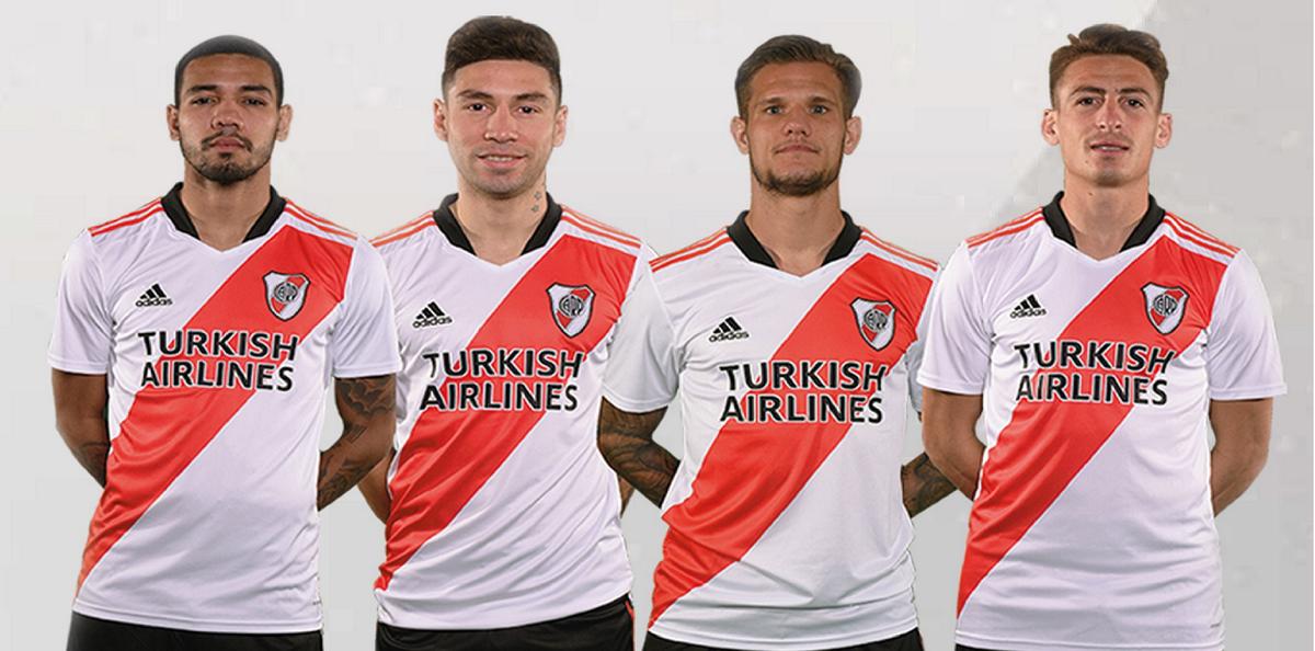 Subastarán las camisetas de Romero, Montiel, Zuculini y Martínez