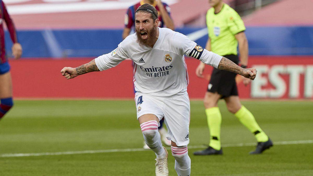 Sergio Ramos todavía no renovó su contrato con Real Madrid.