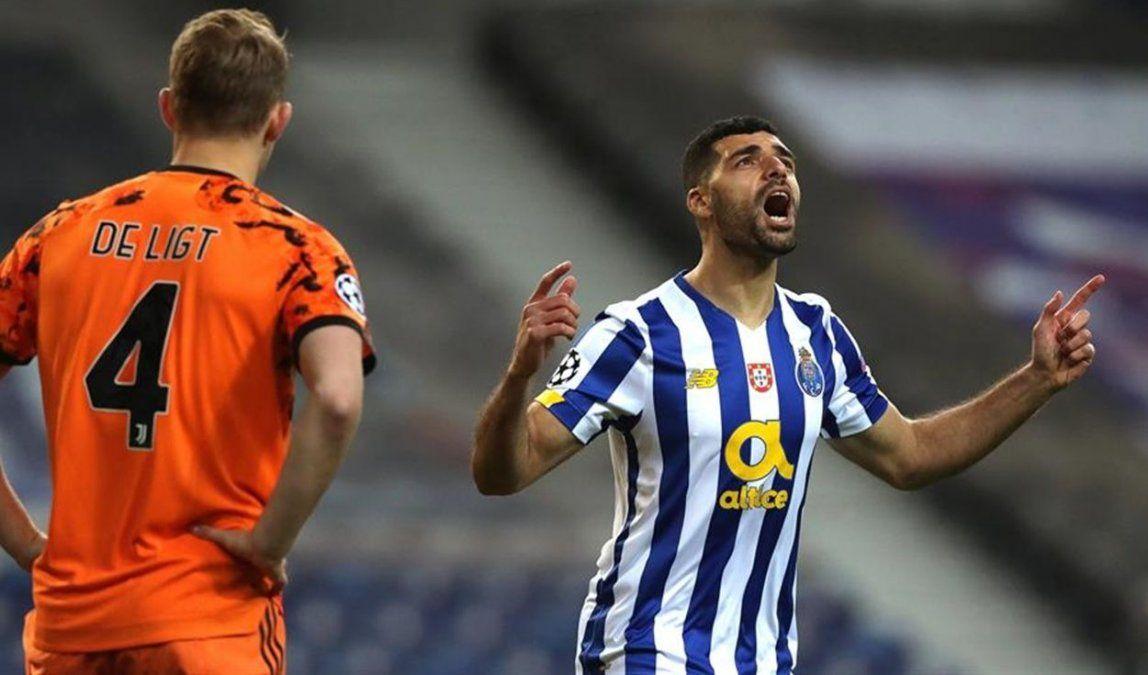 Porto le ganó a Juventus en el partido de ida pero lo dejó con vida para la vuelta.