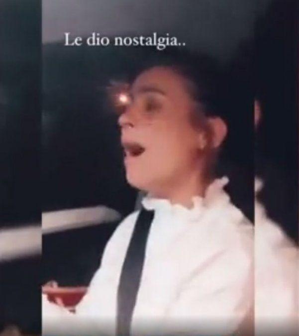 Agustina Cherri escrachada por Muna.