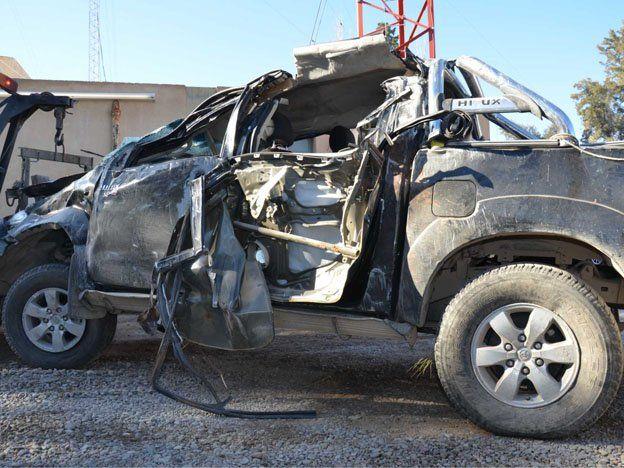 En lo que va de 2013 hubo 2088 internaciones por lesiones de tránsito