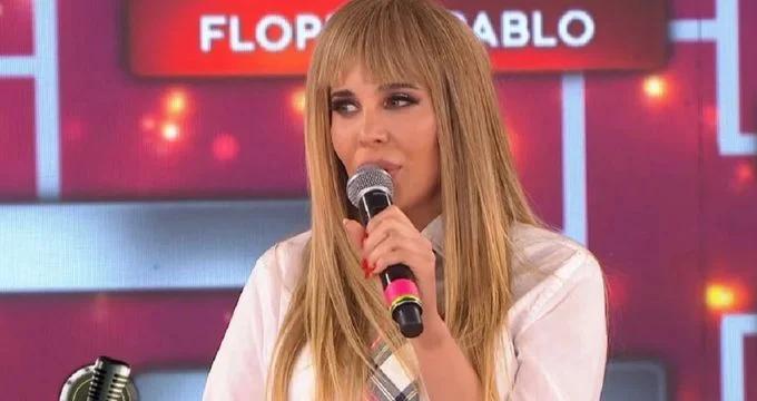Charlotte Caniggia dejó de cantar y acusó a Moria de burlarse