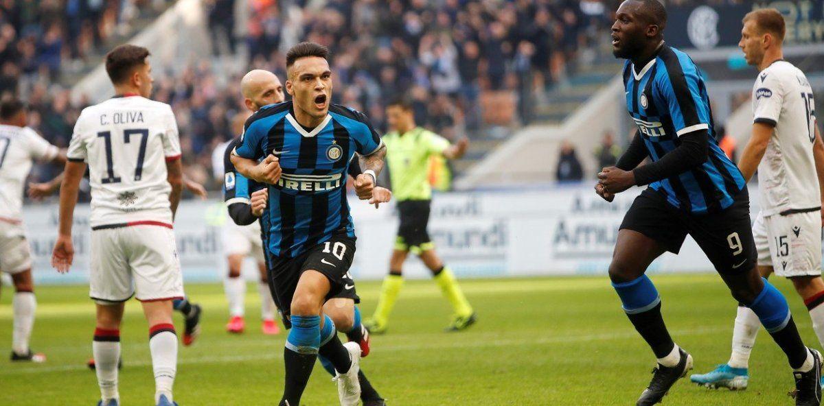 Inter empató con Cagliari: Lautaro Martínez, gol, VAR y expulsión