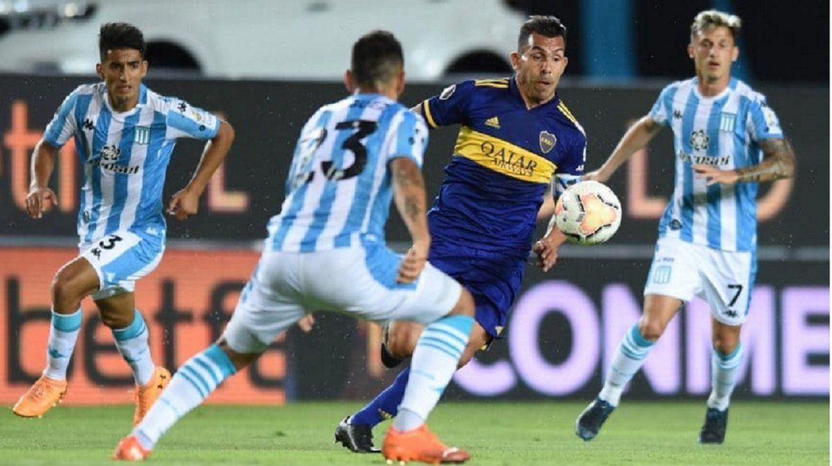 Boca y Racing abrirán las semifinales en el Bicentenario