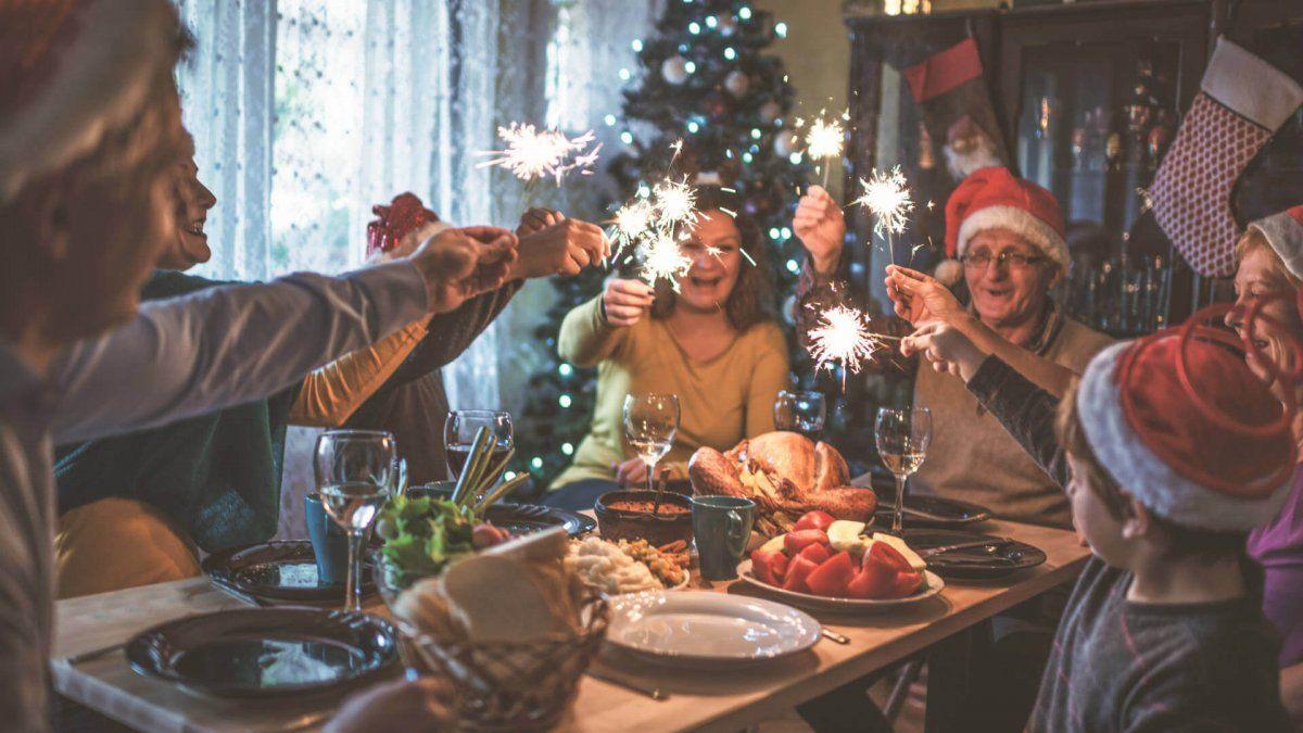 Cena de fin de año. Imagen Ilustrativa