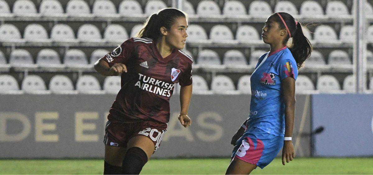River ganó y pasó a los cuartos de final de la Copa Libertadores femenina.