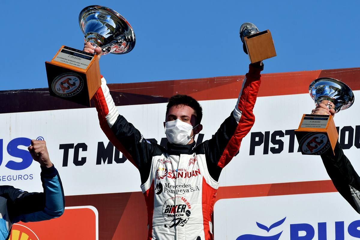 Tobías Martínez ganó en el Autódromo Roberto Mouras de La Plata