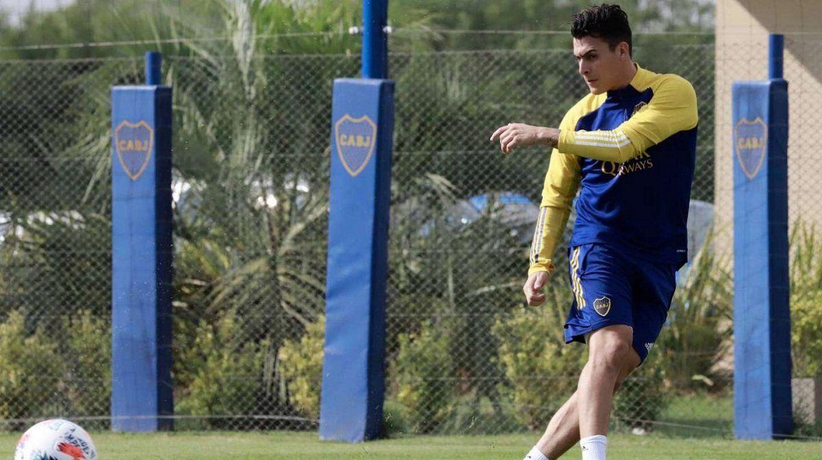 Cristian Pavón reaparece en Boca y podría estar ante Huracán