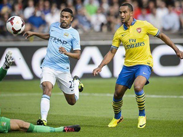 Sin el Kun, Manchester City perdió un amistoso con el Arsenal