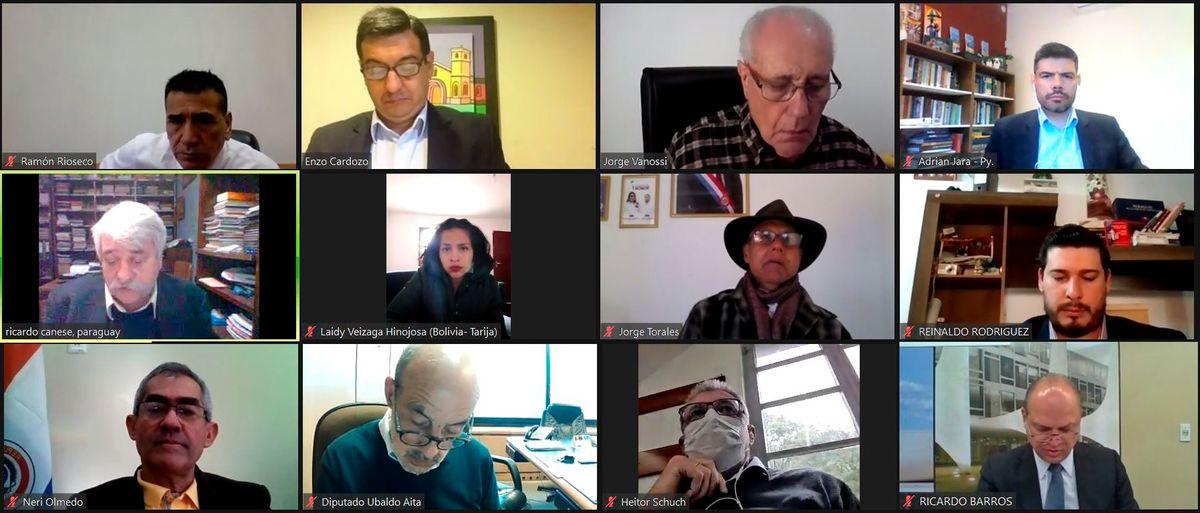 Parlasur se reunirá para analizar el envío de armas a Bolivia