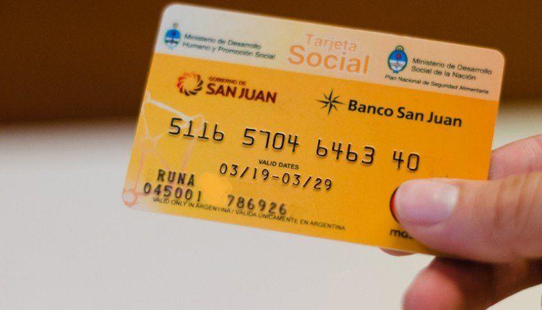 Los beneficiarios de la Tarjeta Social tienen acreditado el saldo de octubre