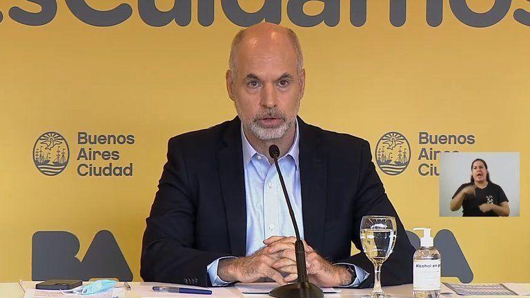 Enojado, Larreta pidió reunirse urgente con Fernández y rechazó las medidas