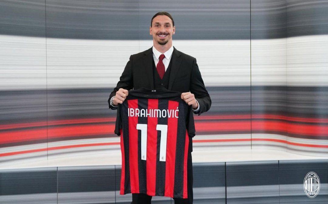 Ibrahimovic renueva su contrato con Milan